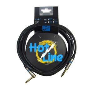 Leem Hot Line HOT-3SL 10ft straight to Angled Jack Guitar Cable