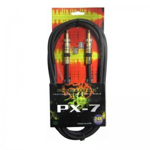 Powertech PX-7 20ft SS straight to straight 6.3mm Jack Instrument Cable