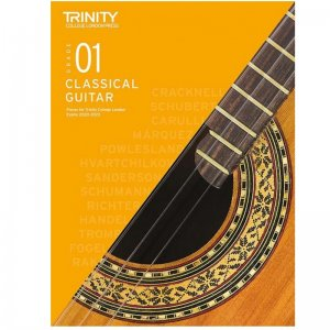 Trinity Guitar Exam Pieces 2020-2023: Grade 1