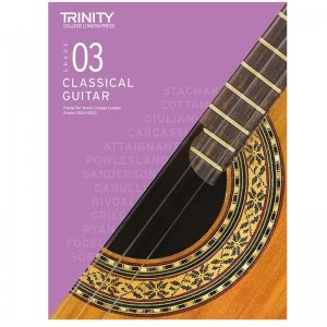 Trinity Guitar Exam Pieces 2020-2023: Grade 3