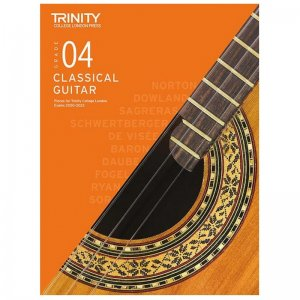 Trinity Guitar Exam Pieces 2020-2023: Grade 4