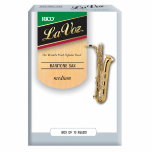 Rico La Voz, Baritone Sax Reeds, Box 10, Strength Medium