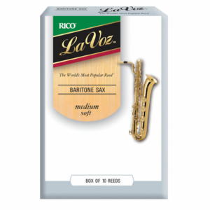 Rico La Voz, Baritone Sax Reeds, Box 10, Strength Medium Soft