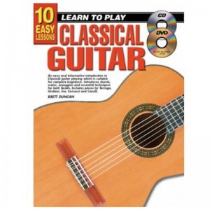 Learn To Play Classical Guitar With CD And DVD