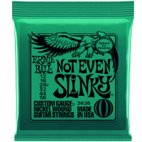 Ernie Ball 2626 Not Even Slinky, Nickel Electric Guitar Strings 12-56