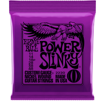 Ernie Ball Power Slinky 2220  Electric Guitar Strings 11-48