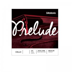 D'Addario Prelude 3/4 Scale, Medium Tension Cello A String