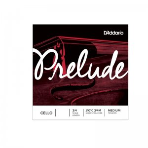 D'Addario Prelude 3/4 Scale, Medium Tension Cello C String