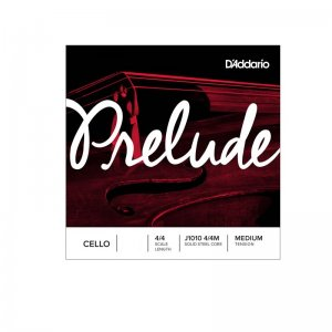 D'Addario Prelude 4/4 Scale, Medium Tension Cello D String