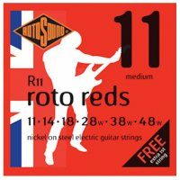 Rotosound R11 Roto Reds Electric Guitar Strings  11- 48