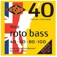 Rotosound RB40 Roto Bass, Electric Bass Guitar Strings 40-100