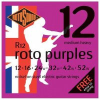 Rotosound R12 Roto Purples Electric Guitar Strings 12 -  52