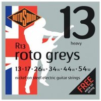 Rotosound R13 Roto Greys Electric Guitar Strings 13  - 54