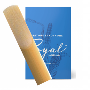Rico Royal Baritone Saxophone Single Reed, Strength 2
