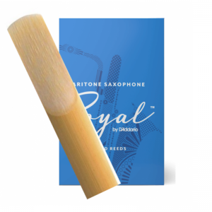 Rico Royal Baritone Saxophone Single Reed, Strength 2.5