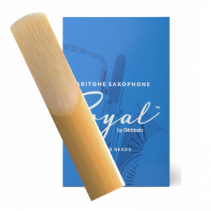 Rico Royal Baritone Saxophone Single Reed, Strength 3