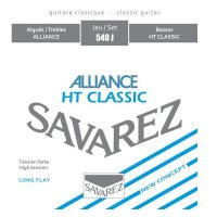 Savarez Alliance 540J  Blue  Classical Guitar Strings High Tension Set