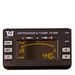 TGI TGI99B Chromatic Tuner Metronome with clip on Mic