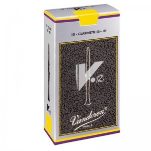 Vandoren V12  Bb Clarinet Reeds , box of 10