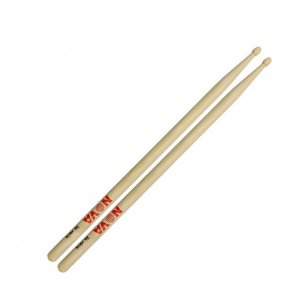 Vic Firth Nova, 2B Hickory With Wood Tip Drumsticks (VFN 2B)